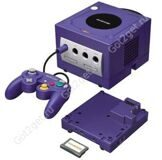 Игровая приставка Nintendo GameCube + Game Boy Player Индиго