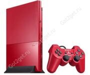Игровая приставка Sony PlayStation 2 Slim Cinnabar Red