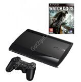 Игровая приставка PlayStation 3 Super Slim 500Gb + Игра Watch Dogs