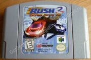 RUSH 2 Extreme Racing USA (N64)